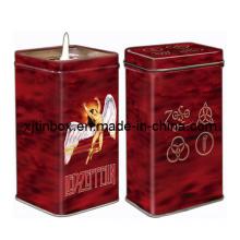 Food Grade Tin Candle Box, Candle Tin, Metal Candle Can, Candle Box (XJ-003F)