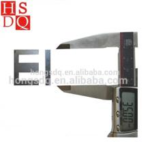 Feuille laminée à froid de haute qualité d'acier de silicium de stratification non poreuse d'EI