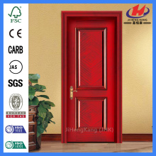 JHK-017 Natural Red Walnut High Quality  Moulded Interior Door  Panel
