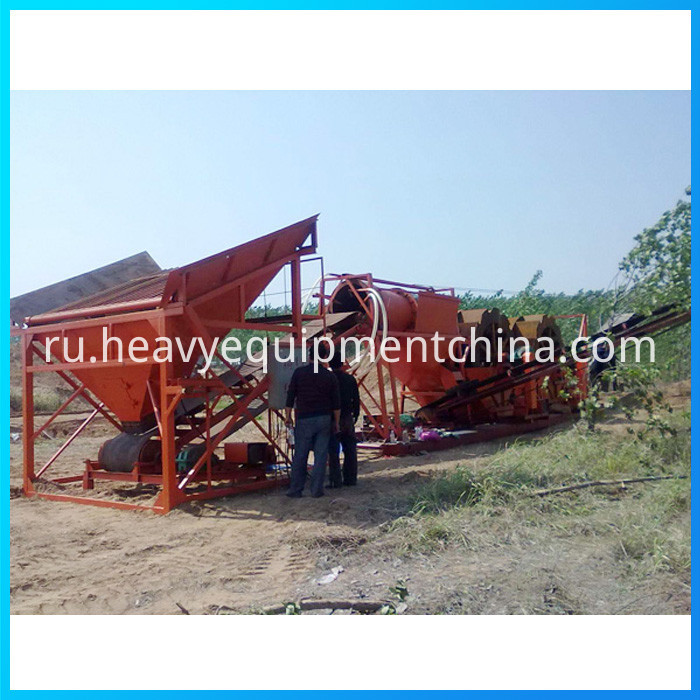 Mobile Trommel Screen Price
