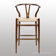 Novo design de madeira cadeira de bar