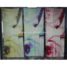 pure cashmere printed scarf shawl