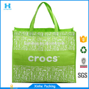 Outdoor advertising laminated disposable pp non woven bag for supermarket