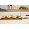 Wooden Cheese Board and Bread Board, Classic Design - 17 x 6 Inch