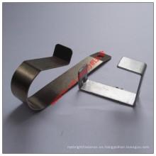 Pieza de doblez eléctrica de acero de cobre de la alta precisión para el producto electrónico