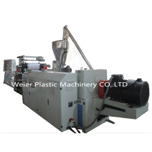 PVC Edge Band Sheet Exrusion Line with Slitting System 400mm
