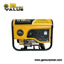 Gerador portátil da gasolina do valor 2kw 3kw 4kw 5kw 6.5kw 8500W do poder
