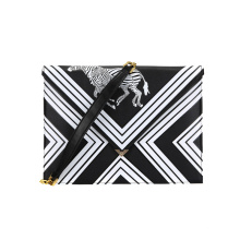 Moda Bolsa de ombro PU Bolsa de embreagem Cool Zebra Wzx1137