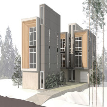 (ДС-1)наклон крыши панельного дома Стэлл для Селитебного проекта