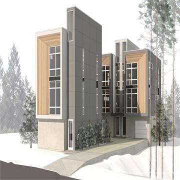 (WL-1) Slope Roof Stell Maison préfabriquée pour projet résidentiel