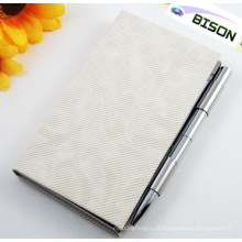 Bloco de notas, suporte de caneta com suporte de bloco de notas, Memo Pad Box