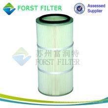 FORST Cartucho de filtro de aire cilíndrico de poliéster de alta eficiencia