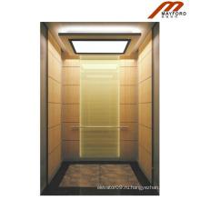 Высокое качество пассажирский Лифт с титаном нержавеющей стали drawbench