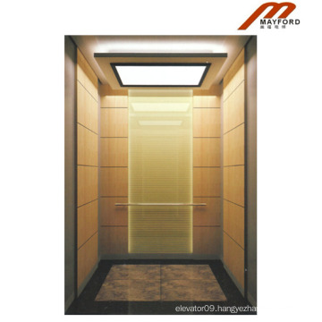 High Quality Passenger Elevator with Titanium Drawbench Stainless Steel