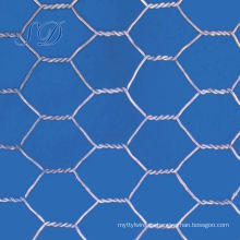 Malla de alambre hexagonal galvanizada de la cerca de 20m m