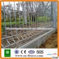 El PVC cubrió la cerca de alambre de la serie del jardín de la cerca del acoplamiento de alambre para la venta