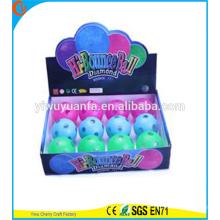 Высокое качество детские игрушки резиновые светодиодные Диско свет прыгающий мяч