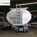 2018 High Quality 3 Axle 45000 Liters Oil Tanker 40 to 45 m3 Fuel Tank Semi Trailer with low price