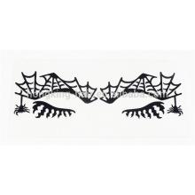 etiqueta provisória do lápis de olho, etiqueta do tatuagem da sombra para o partido do Dia das Bruxas