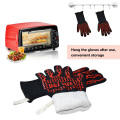 932F Heat Proof Cut Resistant Silicone Hot Surface Handler BBQ Baking Gloves