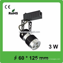 High quality CE&ROHS certificate AC85v-265v 3w led track light