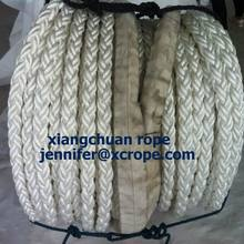 Best quality Low price for Polyester Braided Rope Polyester Rope Mooring Hawser 48mm supply to Equatorial Guinea Manufacturers
