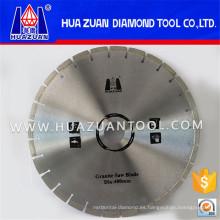 Hoja de sierra de la maquinaria del corte del bloque del granito del diamante