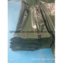 Dark Green Poly Tarp Cover Tarpaulin