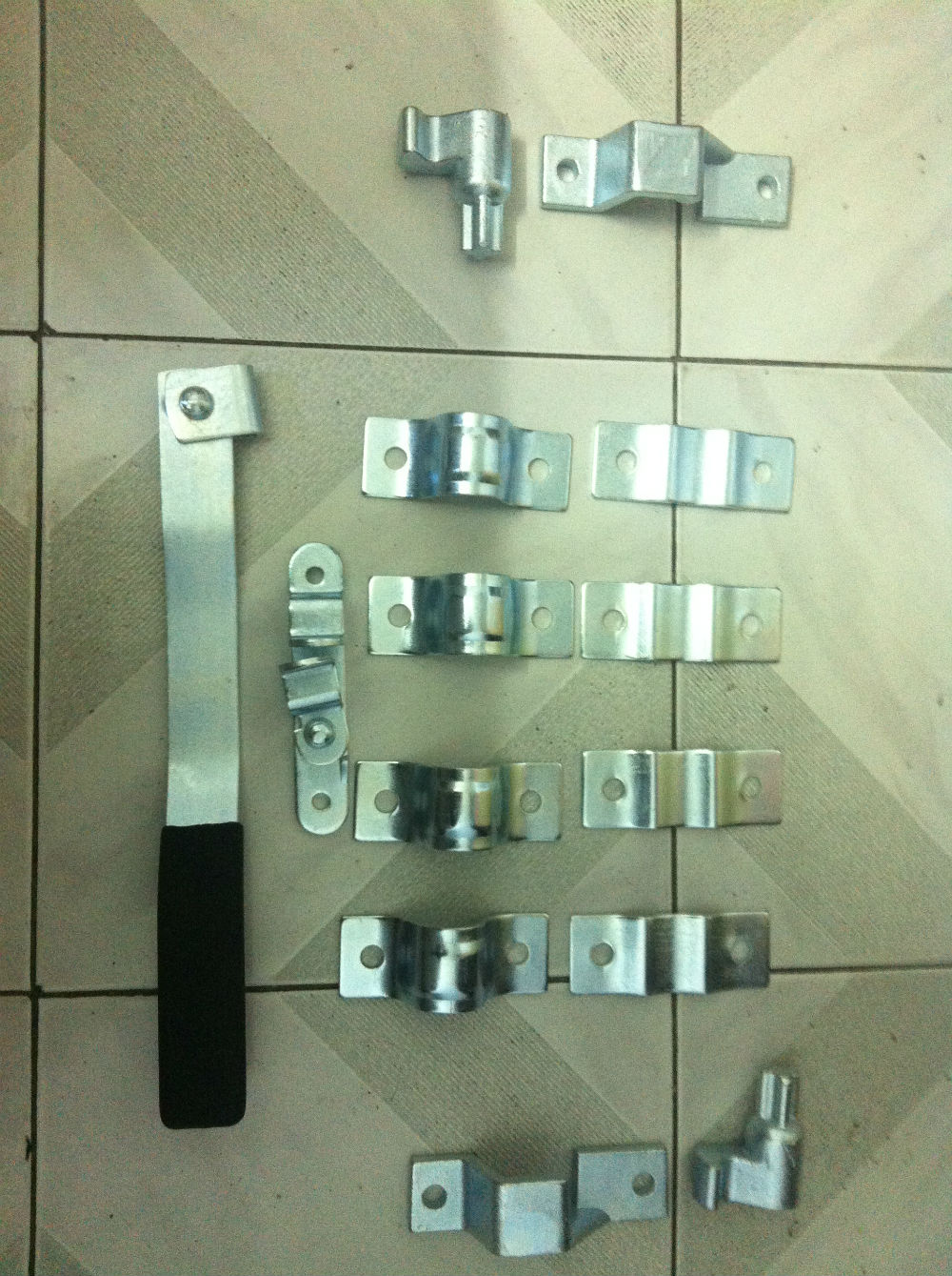 Metal Lock and Latch for Auto Door