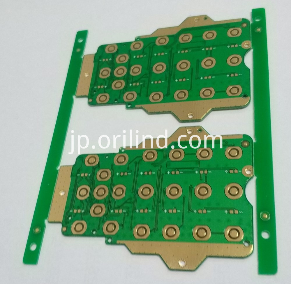 Gold plating circuit board
