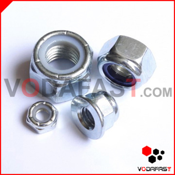 Nylon Insert Lock Nut Zinc Plated