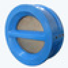 PTFE Coated Body Big supplier in China Dual plate swandwich Check Valve