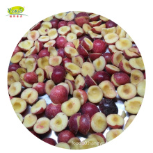 Export Standard Delicious Competitive Price Fruits IQF Frozen Dark Chinese Plum Halves Dices