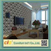 Wallpaper Designer 3D PVC imperméable à l'eau de ménage moderne