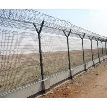 Airport Wire Mesh Zaun