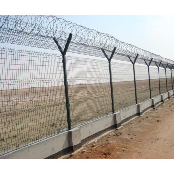 Galvanized and PVC Coated Wire Mesh Fence for Sale (factory)
