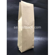 Kraft Paper Side Gusset Kaffe Bag