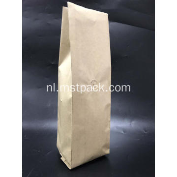 Kraft Paper Side Gusset Koffie Bag