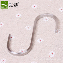 металлический S-образный крючок для вешалки для магазина одежды