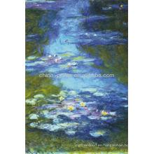 Lirios de agua de Claude Monet