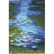 Lírios de água por Claude Monet