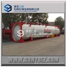 40ft T50 40000-50000L Contenedor del tanque del LPG de ISO para el envío, remolque
