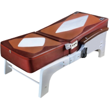 New Style Luxury Electric Thai Shiatsu Jade Full Body Massage Bed with Music and Far Infrared Heat
