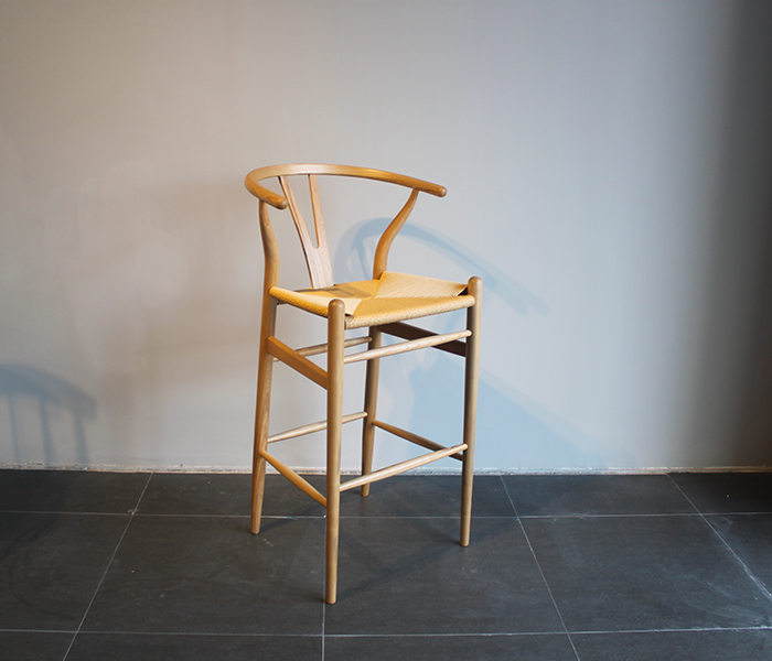 wishbone counter height stool