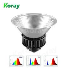 A luz hidropónica do diodo emissor de luz do espectro completo de alta potência de Koray 100W para a estufa cresce a iluminação