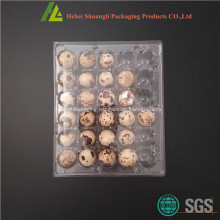 Clear transparent 30 holes plastic quail egg tray