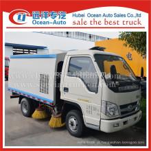 4 * 2 caminhão da vassoura de sucção de rua pequeno para preço mais barato