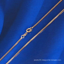 Fashion Chainsaw Necklace with 18k Gold Plated