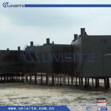 Стальные плавучие доки понтона для дноуглубительных работ и морского строительства (США-1-004)