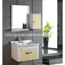 Cabinet de salle de bains en PVC / vanité de salle de bain en PVC (KD-305B)